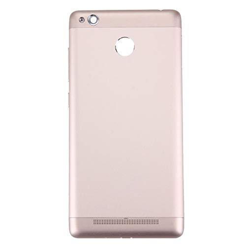 Lin-L La batería Cubierta Trasera for 3s Xiaomi redmi (Oro)
