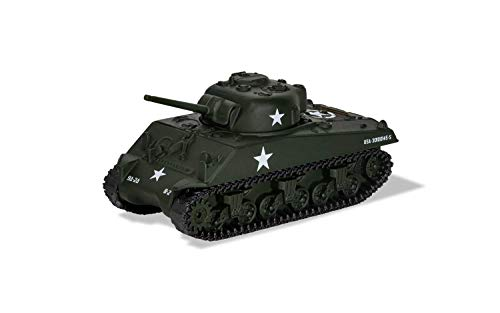 Corgi Diecast Sherman M4 A3 Tank Luxembourg 1944 WWII Military Legends in Miniature Fit The Box Scale CS90632