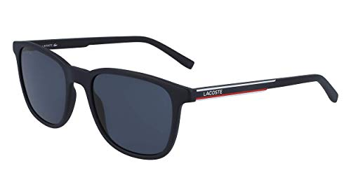 LACOSTE EYEWEAR Mens L915S Sunglasses, Blue, 5319