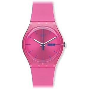 Swatch suop700–Reloj de Pulsera de Mujer, Correa de Silicona Color