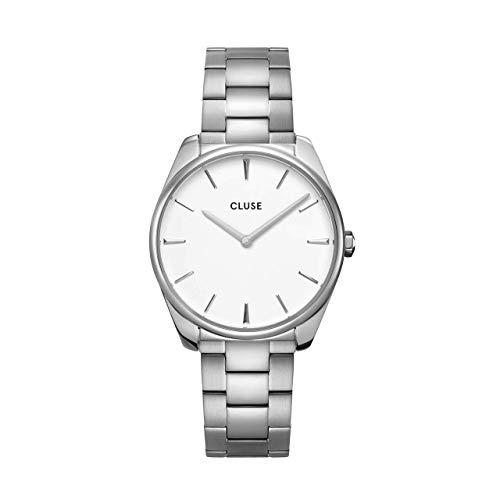 Montre Femme Cluse Féroce Silver White/Silver