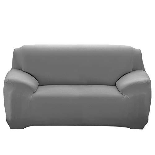 laamei Cubre para Sofá 3 Plazas con Reposabrazos Antideslizante Protector para Sofás Muebles contra Mascotas Polvo y Mancha Cubre Sofá Modelo Funda de Sofá Elástica Universal Color Sólido