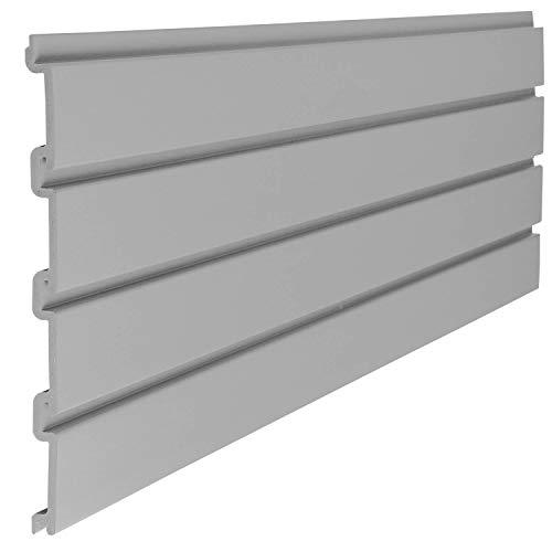 Suncast 4' Resin Slatwall Panel Sections - Gray