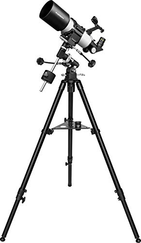 Orion CT80 EQ 80mm Compact Equatorial Refractor Telescope, Black/White (09911)