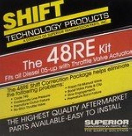 amazon com: superior 48re shift correction kit with throttle valve actuator:  automotive