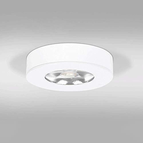 Aiqiyi Interior 7W LED Foco de Techo Iluminación COB montada en Superficie Mini Foco Simple Downlight de Techo for Pasillo Pasillo Galería Galería Cocina y Sala de Estar