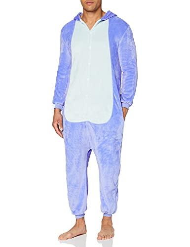 Everglamour - pijama/mono, azul, basado en el personaje Stitch de Lilo y Stitch