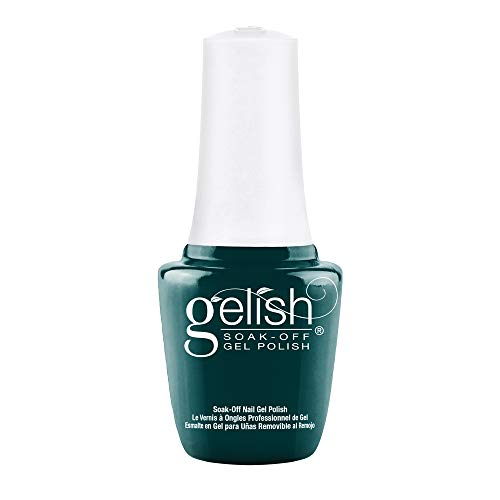 Gelish Mini Garden Teal Party Soak-Off Gel Polish, 0.3 oz.