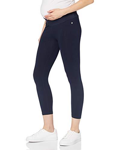 Esprit Maternity Legging Utb 7/8 Leggings premamá, Azul (Night Blue 486), 40 (Talla del Fabricante: M/L) para Mujer