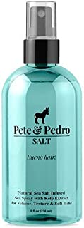 Pete and Pedro SALT - Natural Sea Salt Spray for Men {Featured on Shark Tank}