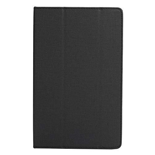 Jopwkuin Cubierta del tirón de la Tableta de la Tableta, para la contraportada Suave de TPU del iPad Mini 1 2 3 4 5 de Apple(Black)