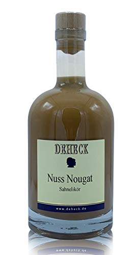Deheck Nuss-Nougat Sahnelikör 0,5l