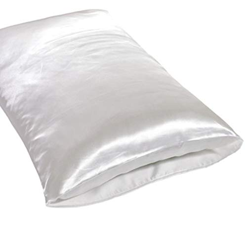 TOOKEN 1pc Satin Pillowcasas Seda Pillowcasas para el Cabello y la Piel Funda de Almohada de la Funda de Almohada