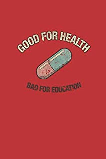 """Good For Health: Akira Capsules Gang Vintage Notebook, Journal for Writing, Size 6"""" x 9"""", 164 Pages"""