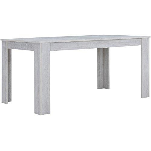 "[en.casa] Tavolo da pranzo ""Helsinki"" (180 x 95 cm) - impiallacciato MDF"
