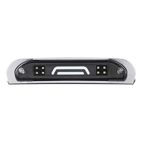 DNA Motoring 3BL-DRM02-3D-LED-BK 3D LED Bar Third Tail Brake/Cargo Light Black/Clear [For 02-09 Dodge Ram Truck]