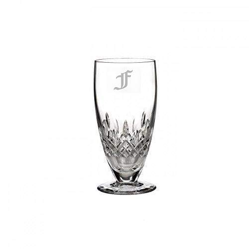 Waterford Lismore Encore 19oz Iced Beverage Glass, Custom Glasses, Engraved Glass Set, Personalized Glassware