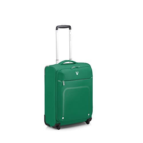 Roncato Lite Plus Maleta Cabina avión Verde, Medida: 55 x 40 x 20 cm, Capacidad: 42 l, Pesas: 1.4 kg, Maleta Cabina avión ryanair