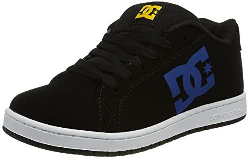 DC Shoes Gaveler-Leather Shoes for Kids, Zapatillas, Negro, 33 EU
