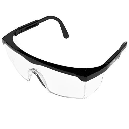 HQRP Glaeser/UV Schutzbrille mit klarer Toenung/Arbeitsschutzbrille fuer Labor Chemie Kurse, Science-Klasse in der Schule/College/Hochschule