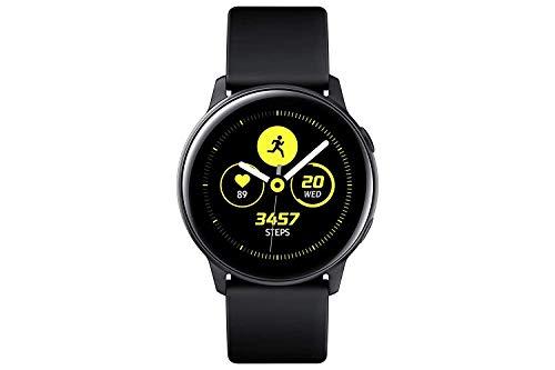 SAMSUNG Galaxy Active Smartwatch 40mm - Black - Bonus Charging Cable - SM-R500NZKCXAR...