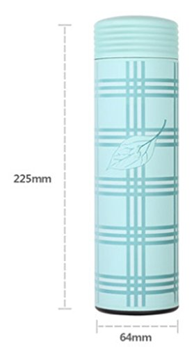 afds Isolierung Cup Stecker Damen tragbar Wasser Cups Kinder Paare Student Cute Schriftzug Edelstahl Tassen