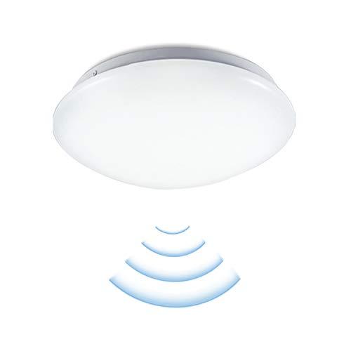 VINGO LED Deckenleuchte mit Radar Bewegungsmelder,Wasserdicht Deckenlampe,360° Bewegungsmelder,8 m Reichweite,Ideal für Wand und Deckenmontage,12W 960 Lumen