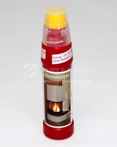 Kaminglasreiniger | Intensivglasreiniger | Aktiv-Glasreiniger | Gel mit Bürste 200 ml