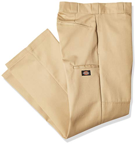 Dickies Hose D/knee Work Pants - Pantalones para hombre, Beige, (Talla del fabricante: 40/34)