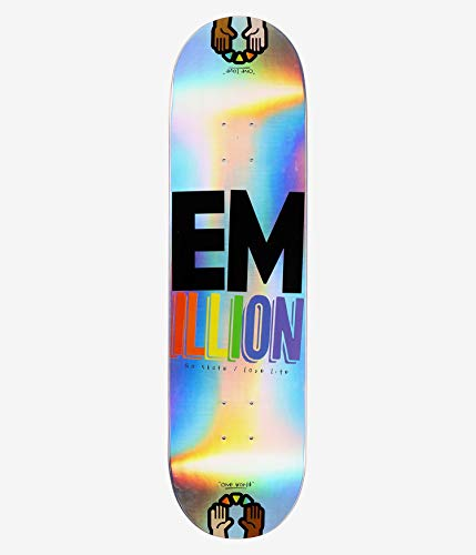 Emillion Skateboard Deck Laser One World 32