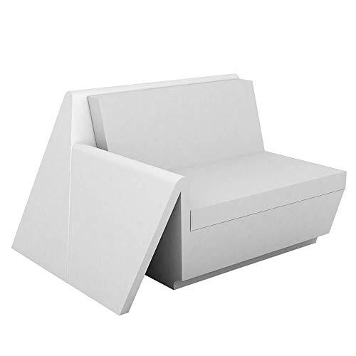 Vondom Rest Sofa Module droit Écru