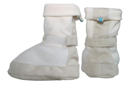 Wallaboo WBO-SHOE5612-ECRU - Babyschuhe Nr 5, 6-12m ivory cream