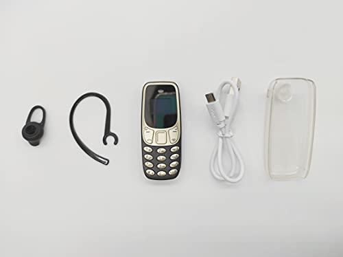 Mini móvil telefono BM10 (Negro Dorado)