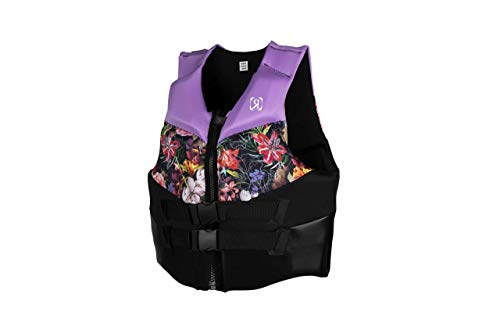 Ronix Daydream Women's CGA Life Vest - Lavender/Floral - L