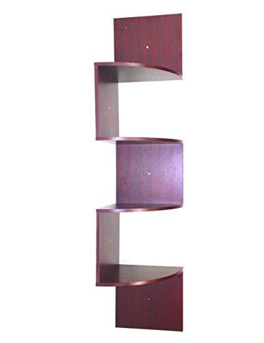 4D Concepts Hanging Corner Storage, Cherry