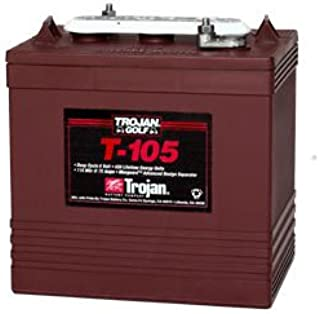 Trojan T-105 GC2 6V 225Ah Deep Cycle Flooded Lead Acid Battery