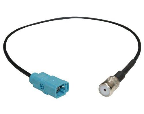 AERZETIX Adapter für autoradio FAKRA-Antennen-Buchse auf ISO Buchse C1411