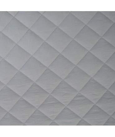 10XDIEZ Boutie Tagesdecke Microfaser Luxus Grau...