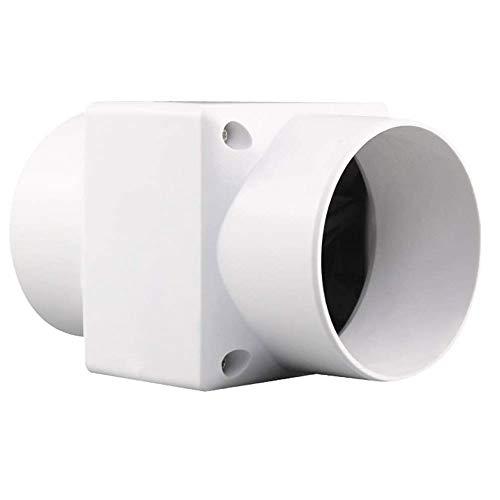 YKAMM Ventilador de Escape, Ventilador de Pared, Ventana, Campana para baño, Ventilador silencioso para el hogar, Ventilador de conducto, ventilación, Extractor de Limpieza de Aire