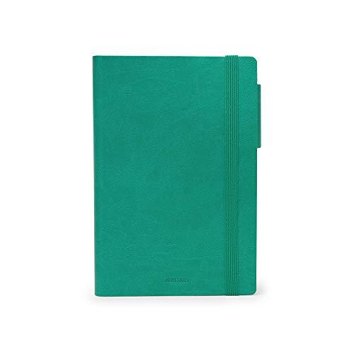 Legami - Agenda Giornaliera 16 Mesi 2020/2021 Medium, Turquoise