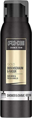 Axe Duschschaum & Rasur Gold Oud Wood & Fresh Vanilla, (200ml)