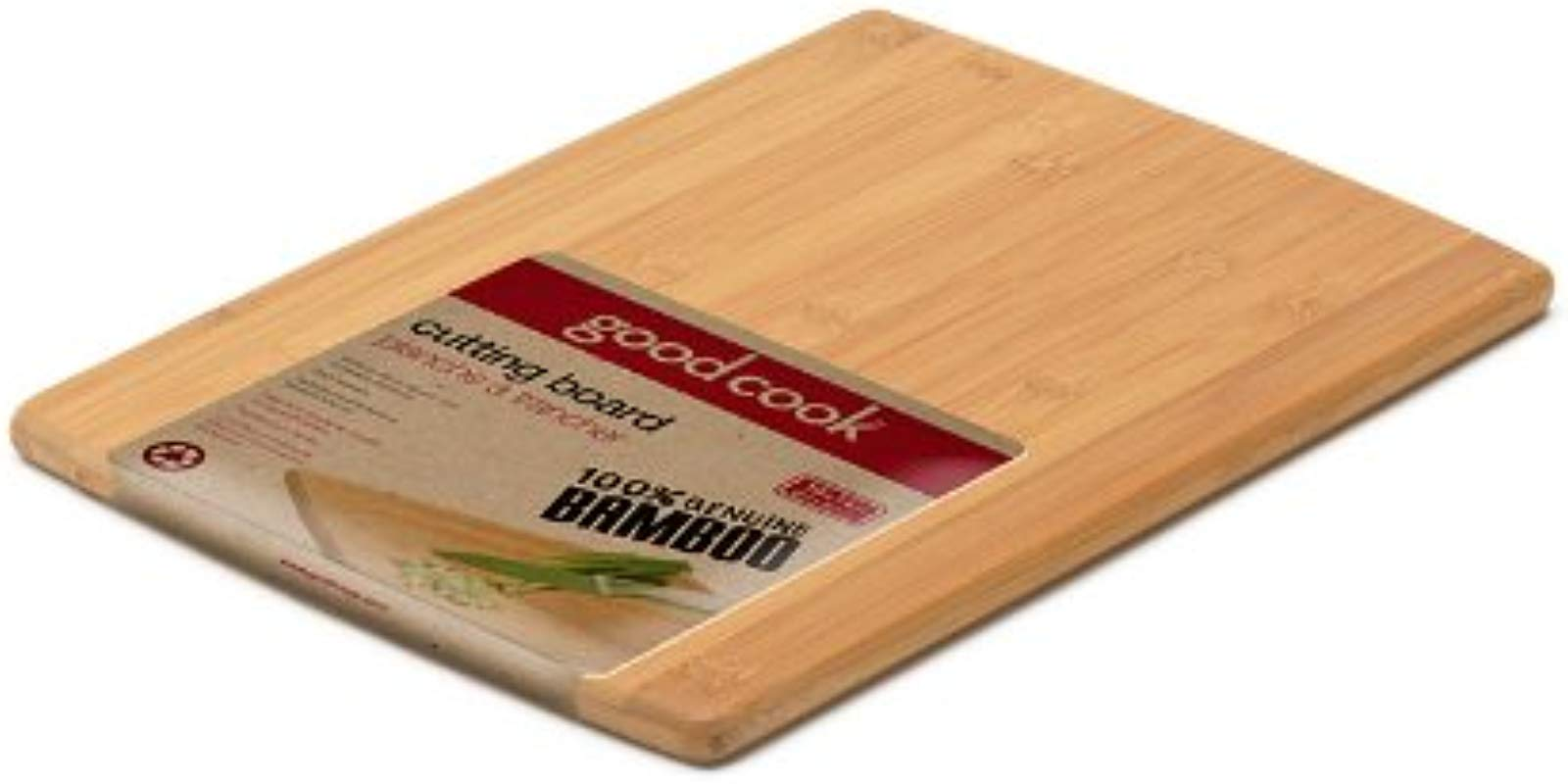 Good Cook Bamboo Cutting Board 10 Inch By 14 Inch