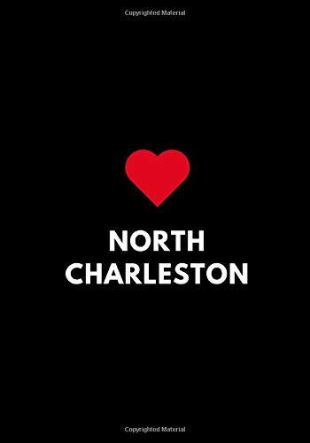 North Charleston: Blank Sketchbook to Draw or Sketch In, Kids Teens Gift, South Carolina USA 7