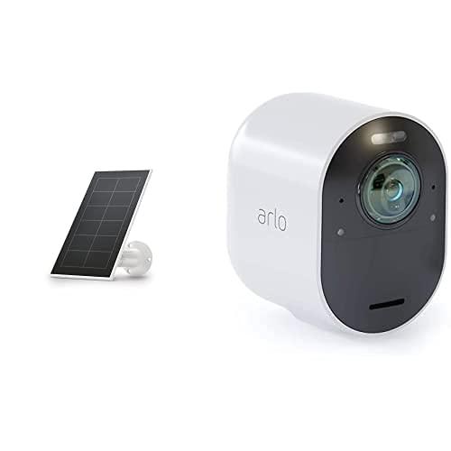 Arlo Ultra 4K HDR   Caméra Additionnelle avec éclairage Intégré, Jour/Nuit &...