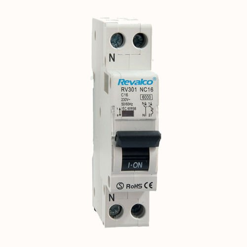 Interruptor automático DPN Revalco 1P+N 25A 6kA