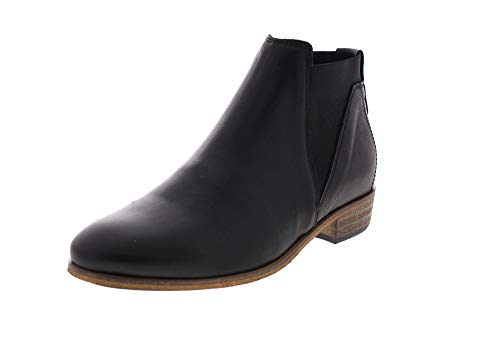 Hub Haghe by Chelsea Boots Kim Black/Natural (40 EU)