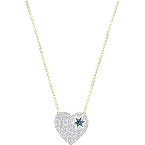 Swarovski, collana modello Great Star con dettaglio di colore blu, codice articolo 5273328