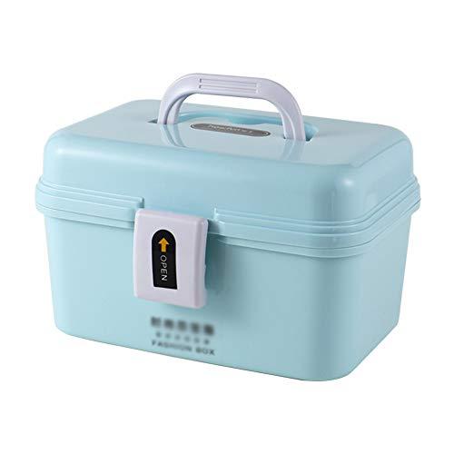 Feng Xu Medische doos-PP materiaal, dik en duurzaam draagbare multifunctionele dubbele vocht en stofdicht, doos huishoudelijke grote capaciteit opbergdoos kinderen baby slaapzaal familie medische porta