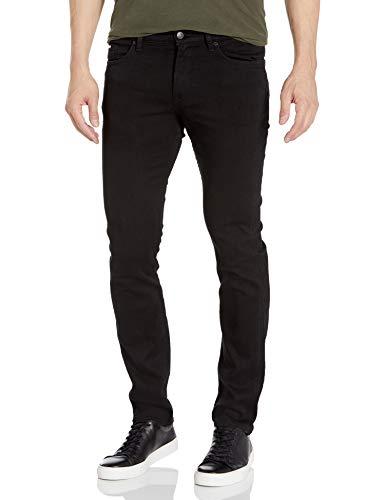 Hugo Boss Herren Delaware Slim Fit Stretch Jeans, tiefschwarz, 34W / 34L