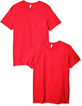 Fruit of the Loom Men s Crew T-Shirt  2 Pack  Fiery Red XXX-Large